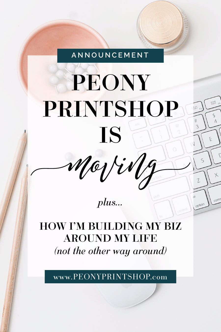 Peony Printshop is now Chelsea B Foster -- Follow along over at ChelseaBFoster.com for design, education, coaching, & consultation for small creative biz owners and solopreneurs.
