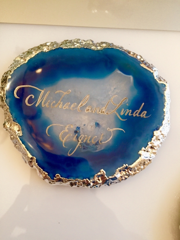 Agate Place Card