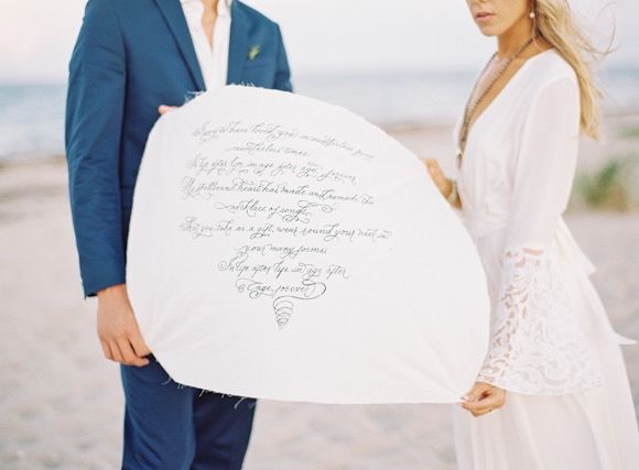 Calligraphy Wedding Vow