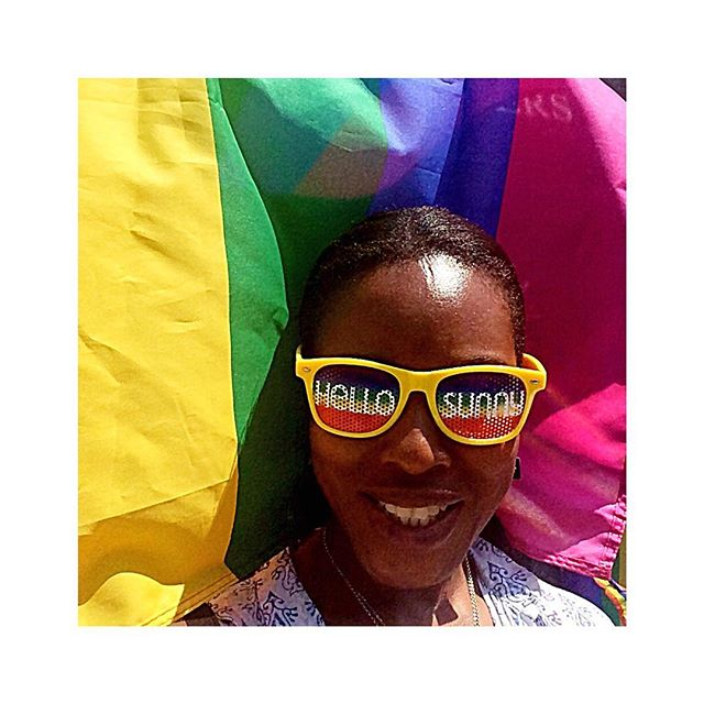 """🌈HAPPY PRIDE🌈 """"Whenever you are threatened by a hostile presence.... emit a thick cloud of love like an octopus squirts out ink..."""" William S Burroughs 🌈 L❤️VE L🧡VE  L💛VE L💚VE L💙VE L💜VE🌈 . . . #pride #love #lgbt #lgbtq #sunshine #parade #fun #unity #diversity #beyourself"""