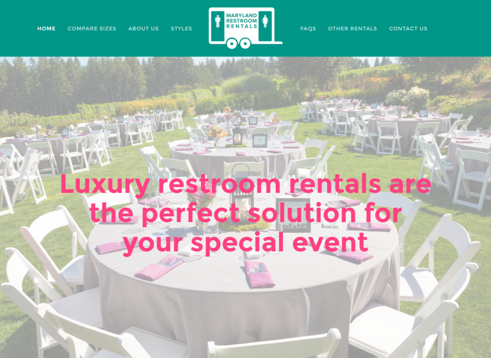Maryland-Restroom-Rentals-Website-Design-and-Marketing-Content