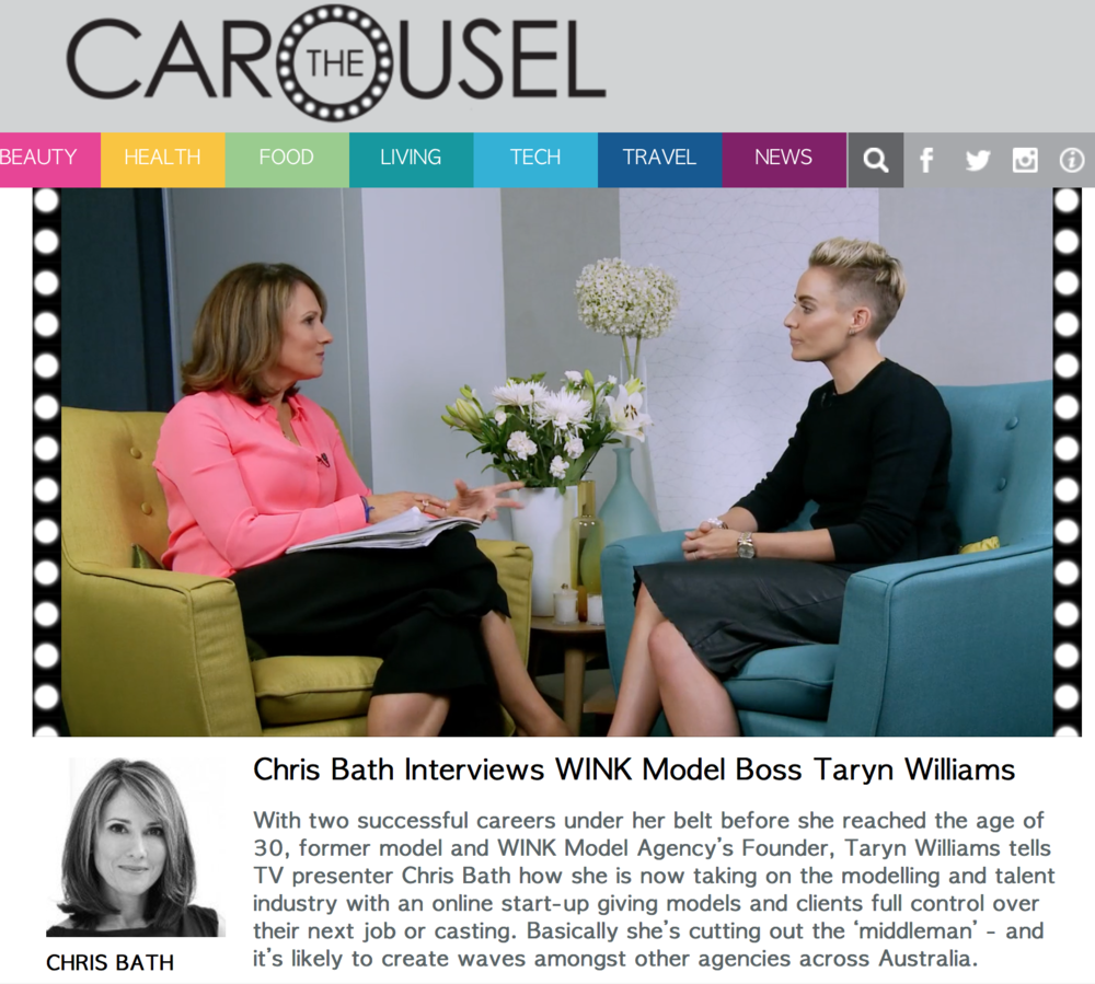 http://thecarousel.com/living/careers/chris-bath-interviews-wink-model-boss-taryn-williams/