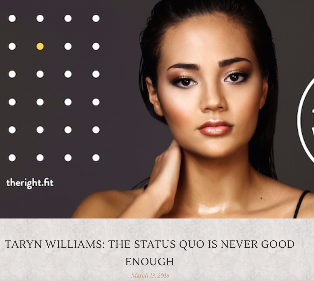 http://www.thestable.com.au/taryn-williams-the-status-quo-is-never-good-enough/