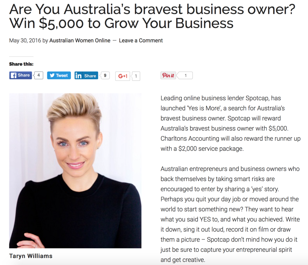 http://australianwomenonline.com/are-you-australias-bravest-business-owner-win-5000-to-grow-your-business/