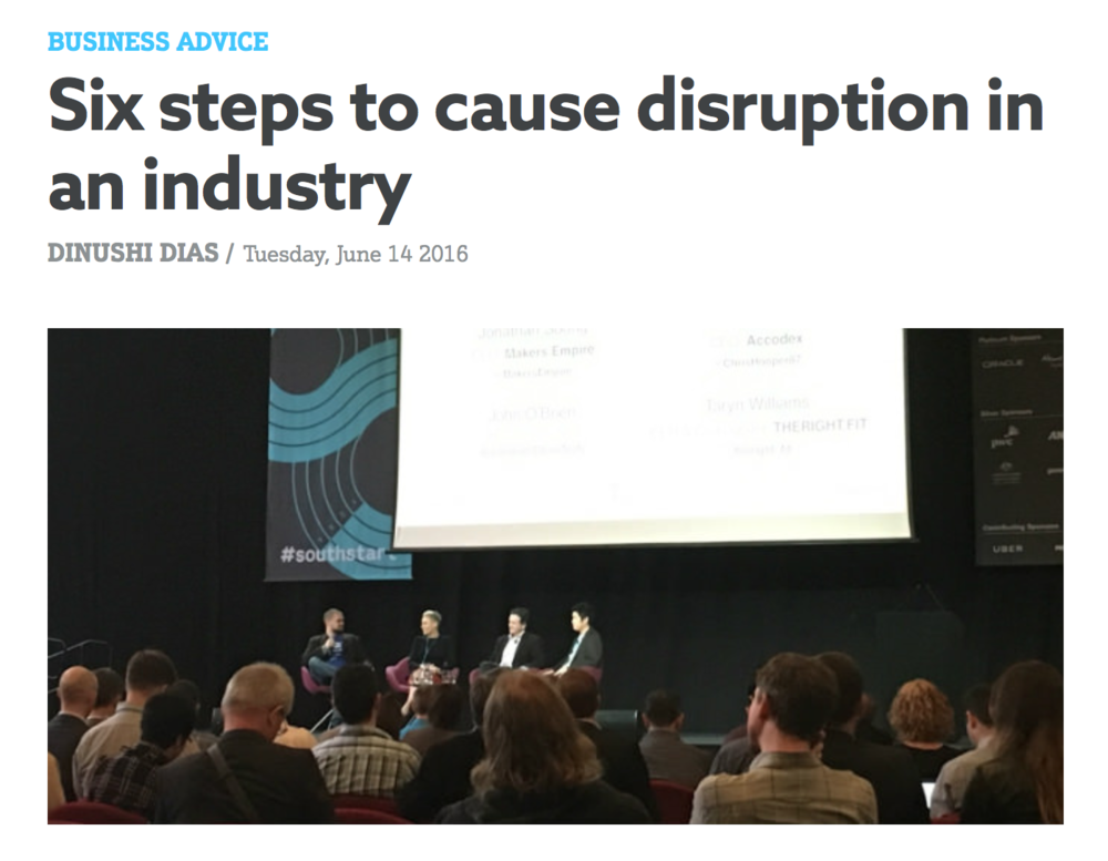 http://www.smartcompany.com.au/business-advice/70288-six-steps-to-cause-disruption-in-an-industry/