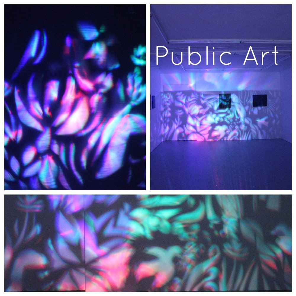 «I connect people with art ». Everyone is creative and contemplate the beauty of art and life. Public art is a way of opening up the eyes and heart of people.