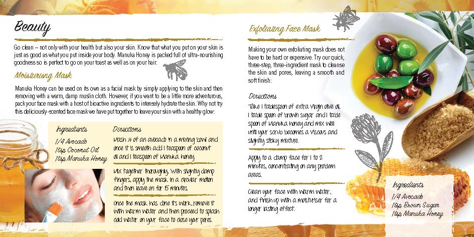 Leaflet (The Real Honey Company)