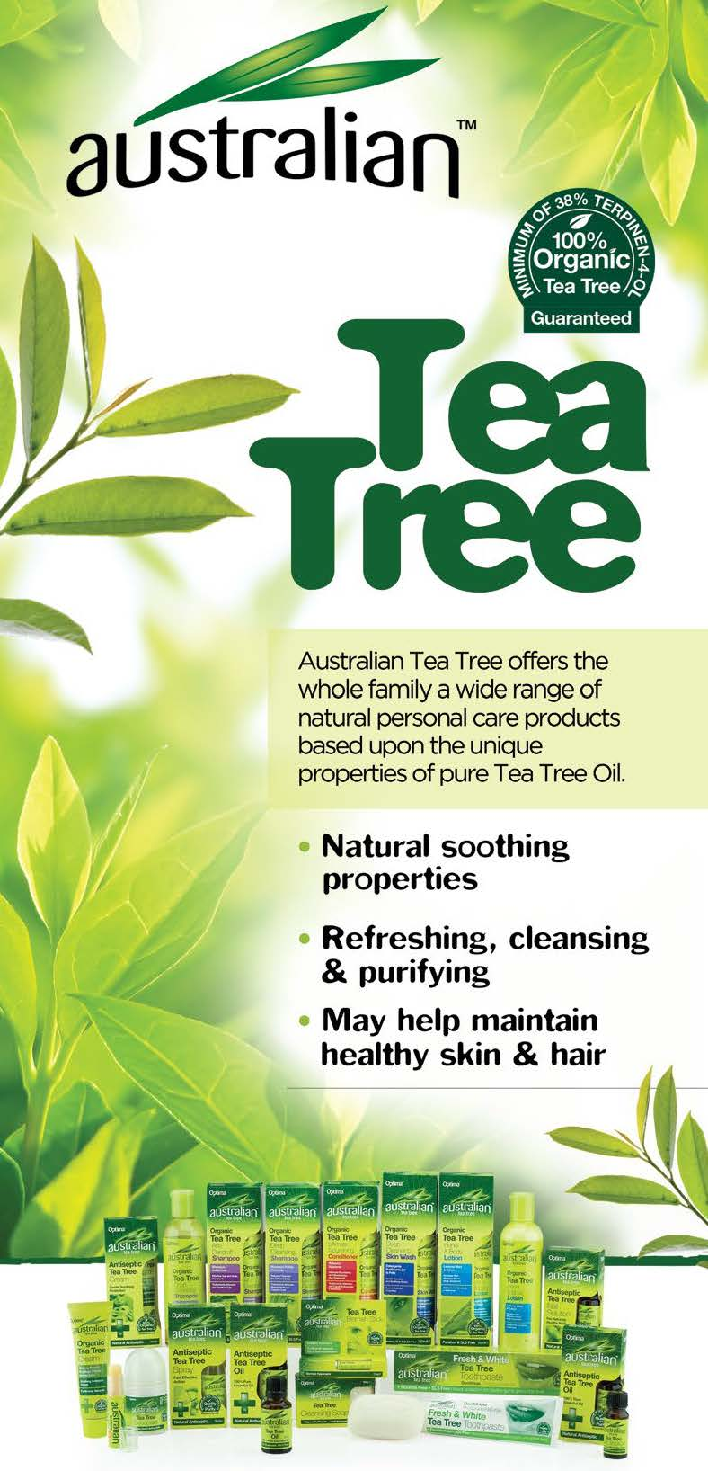 Australian Tea Tree Banner (Optima)