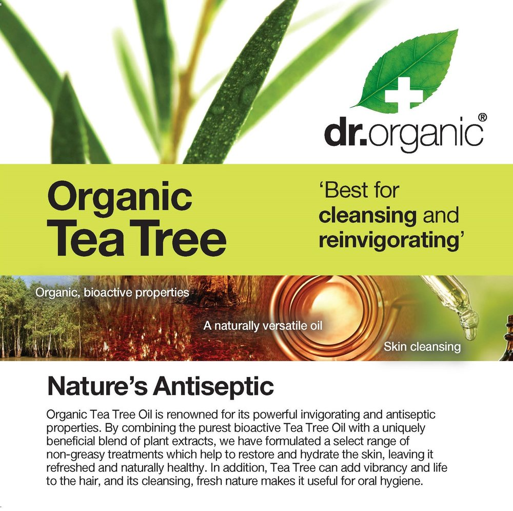 Tea Tree Card (Dr Organic)