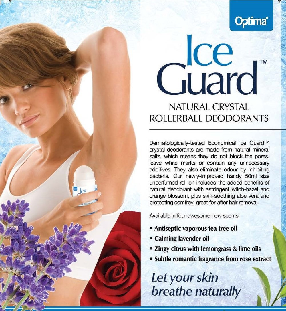 Ice Guard Deodorant Banner (Optima)
