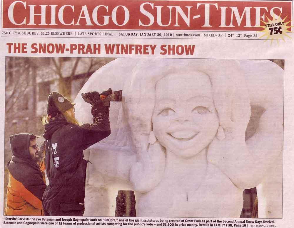 Chicago SunTimes Snoprah