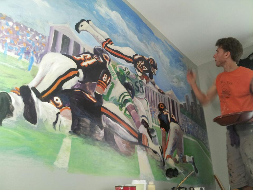 Sports Mural