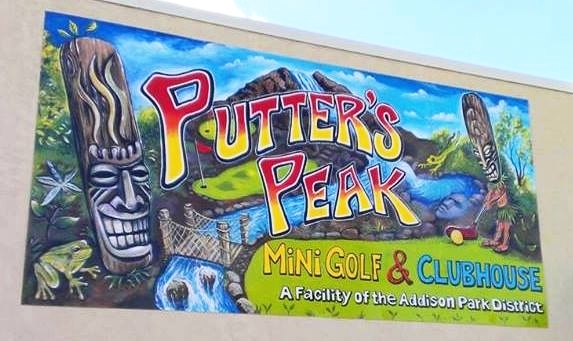 Putter Peak Mini Gulf & Clubhouse