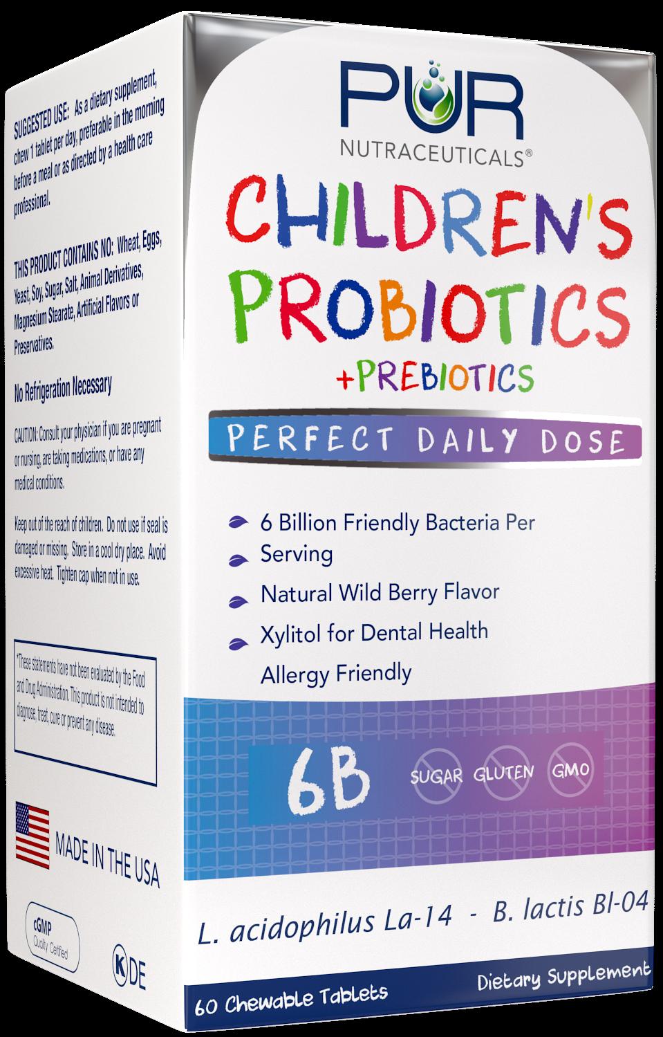 Children's 6B Formula