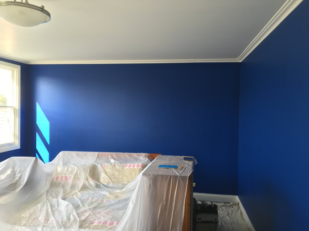 Dulux colour - Blue Expanse
