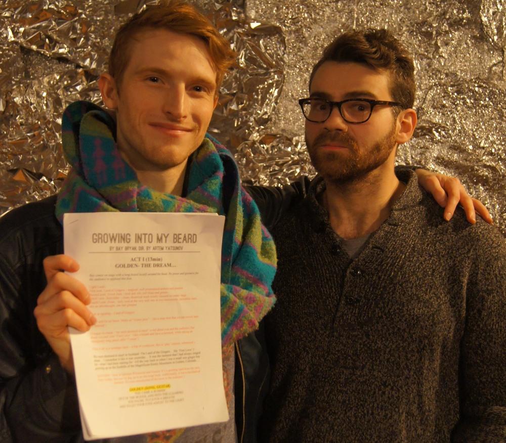 Growing Into My Beard / 2016 Script / Bay Bryan & Artem Yatsunov / Brooklyn Gypsies' One Catches Light Festival