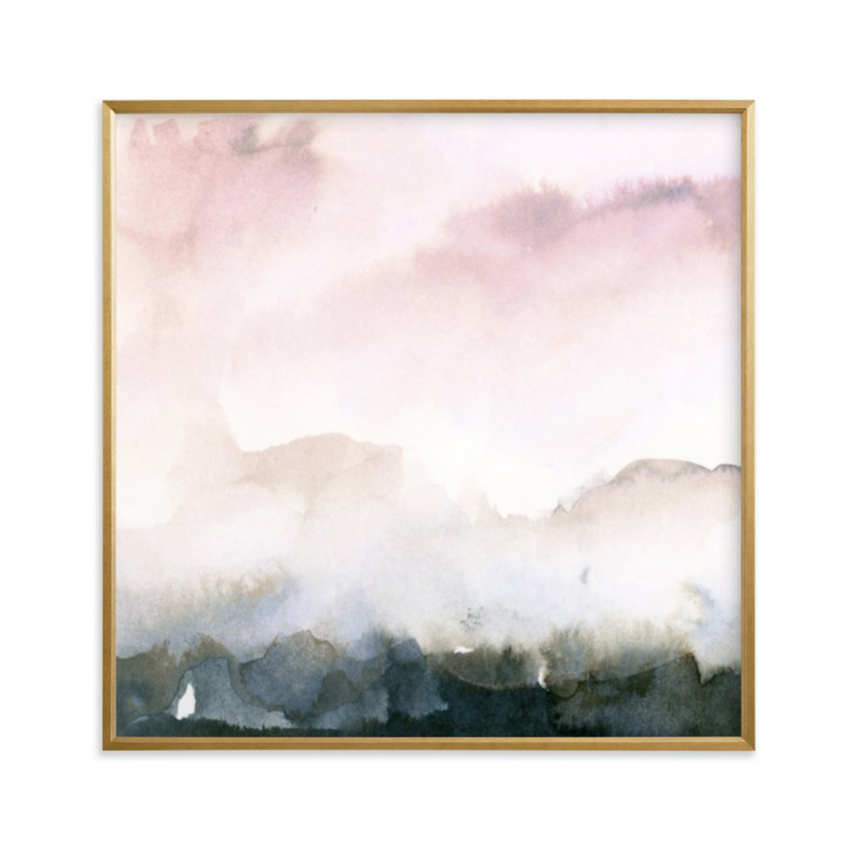 Shop art, home decor and stationery in my  Minted store .