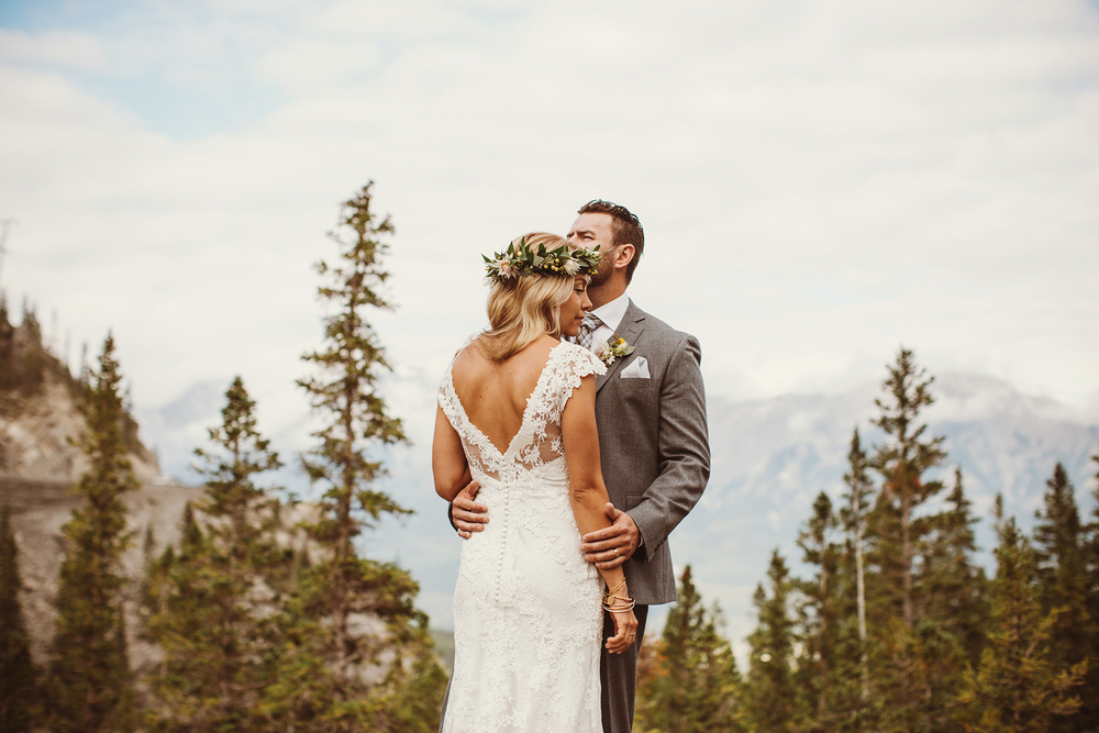 Brittany + Andrew - Canmore, Alberta