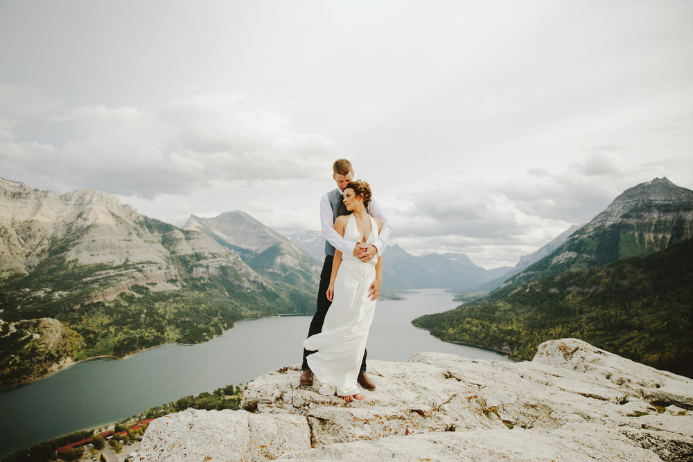 Tricia + Lee - Waterton, Alberta
