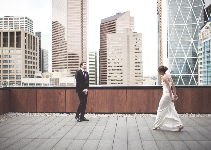 Calgary Wedding Photographer, Lethbridge Wedding Photographer, Charcut, Hotel Le Germain, Stephen Avenue, Downtown