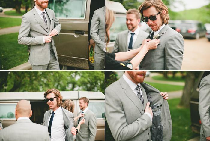 vintage wedding, groomsmen, slim suits, skinny tie, calgary wedding photographer, lethbridge wedding photographer