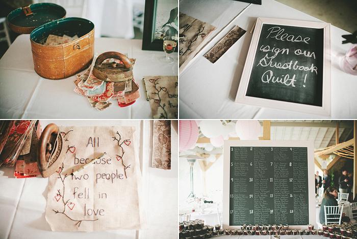 vintage wedding details, chalkboard, diy wedding details, quilt, lethbridge wedding photographer, calgary wedding photographer