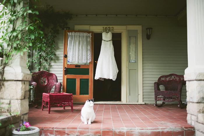 vintage wedding dress, dress shot