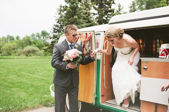 vintage bride, vintage wedding, vw westfalia, calgary wedding photographer, lethbridge wedding photographer
