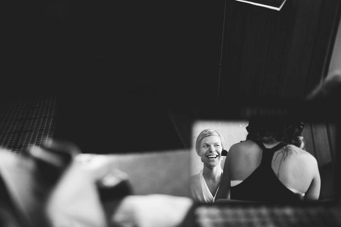 Lethbridge Wedding Photographer, Calgary Wedding Photographer, bride getting ready, makeup, mirror reflection