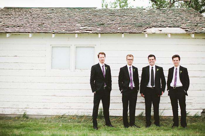 Lethbridge Wedding Photographer, Calgary Wedding Photographer, groomsmen, cool shot of groomsmen