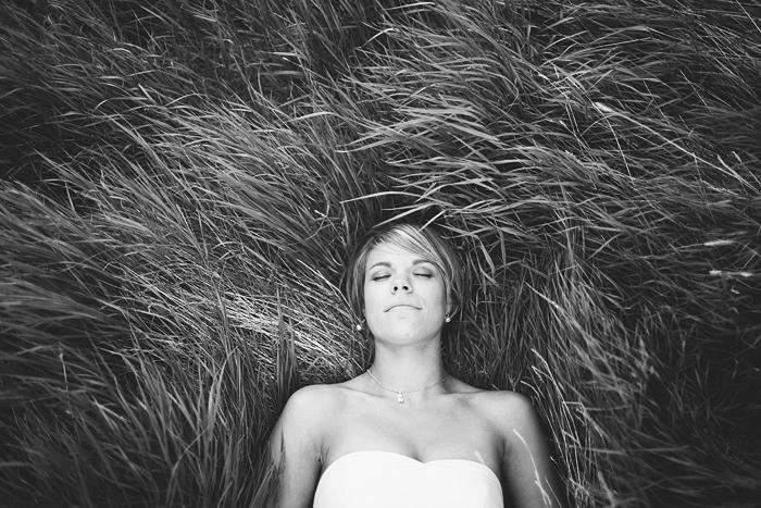 Lethbridge Wedding Photographer, Calgary Wedding Photographer, bride laying grass, long grass, field