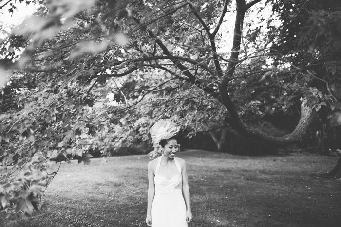 Toronto Wedding Photographer, Bridal Portait, Hairpiece, Chinese Wedding, Bohmer, Spadina House