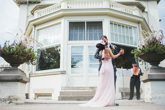 Bride and Groom Dancing, First Dance, Spadina Museum, Toronto Wedding, Calgary Wedding Photographer