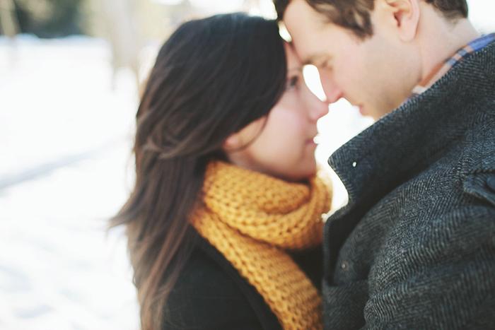 Engagement Session, Skating, Calgary Wedding Photographer, Winter Engagement Session