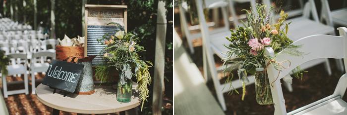 rustic wedding ceremony, hanging books, hanging mason jars, greenhouse ceremony, handmade, diy, saskatoon farm wedding, david guenther