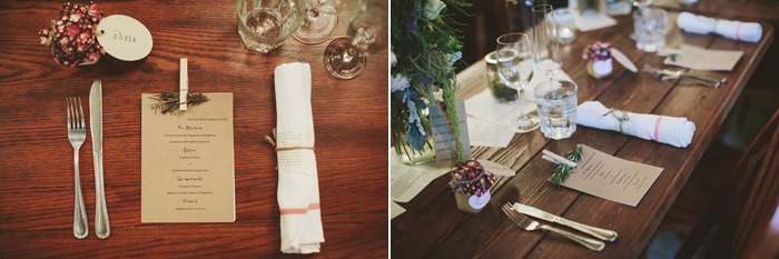 vintage wedding reception, vintage books, mason jars, tea lights, hemp string, saskatoon farm wedding, david guenther