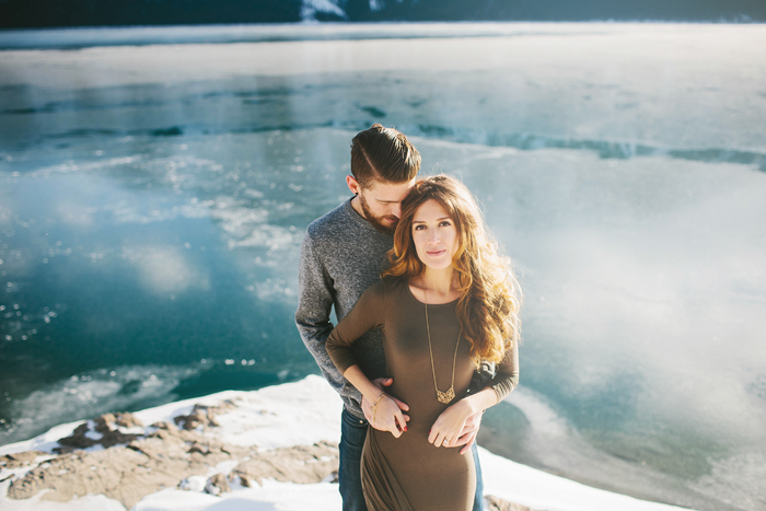 banff engagement session, david guenther