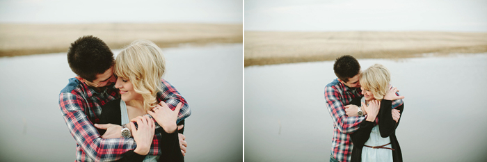 lethbride engagement photographer, sunset engagement session