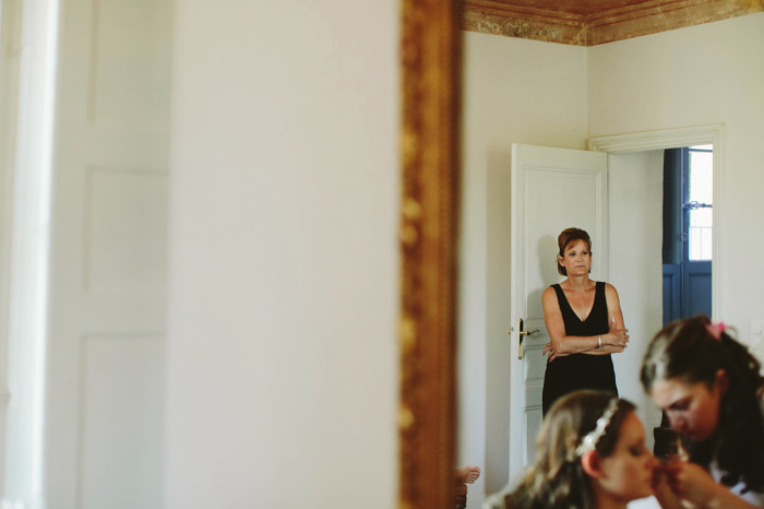 france wedding, bride getting ready, classic, french villa