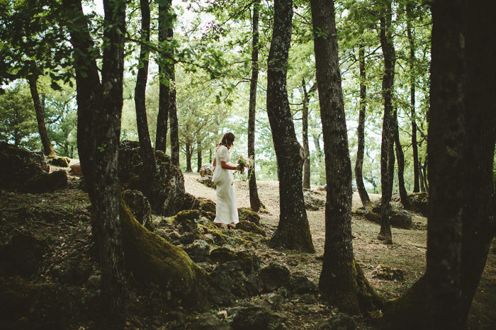 provence wedding, france wedding, wedding portraits in the woods, france wedding photographer