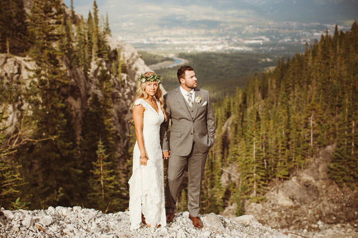 Canmore Iron Goat Wedding -45