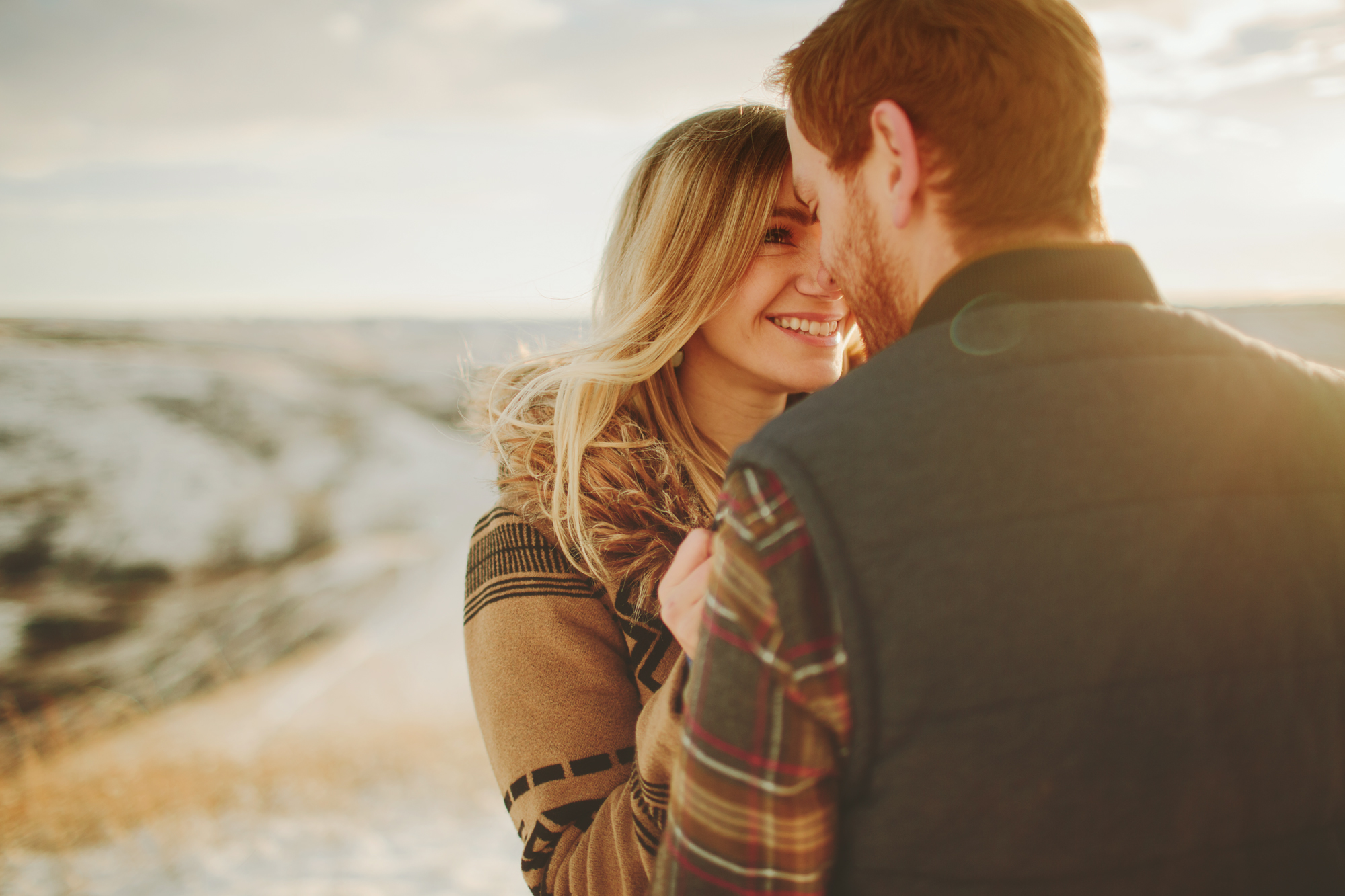 lethbridge engagement session, lethbridge wedding photographer, winter engagement session
