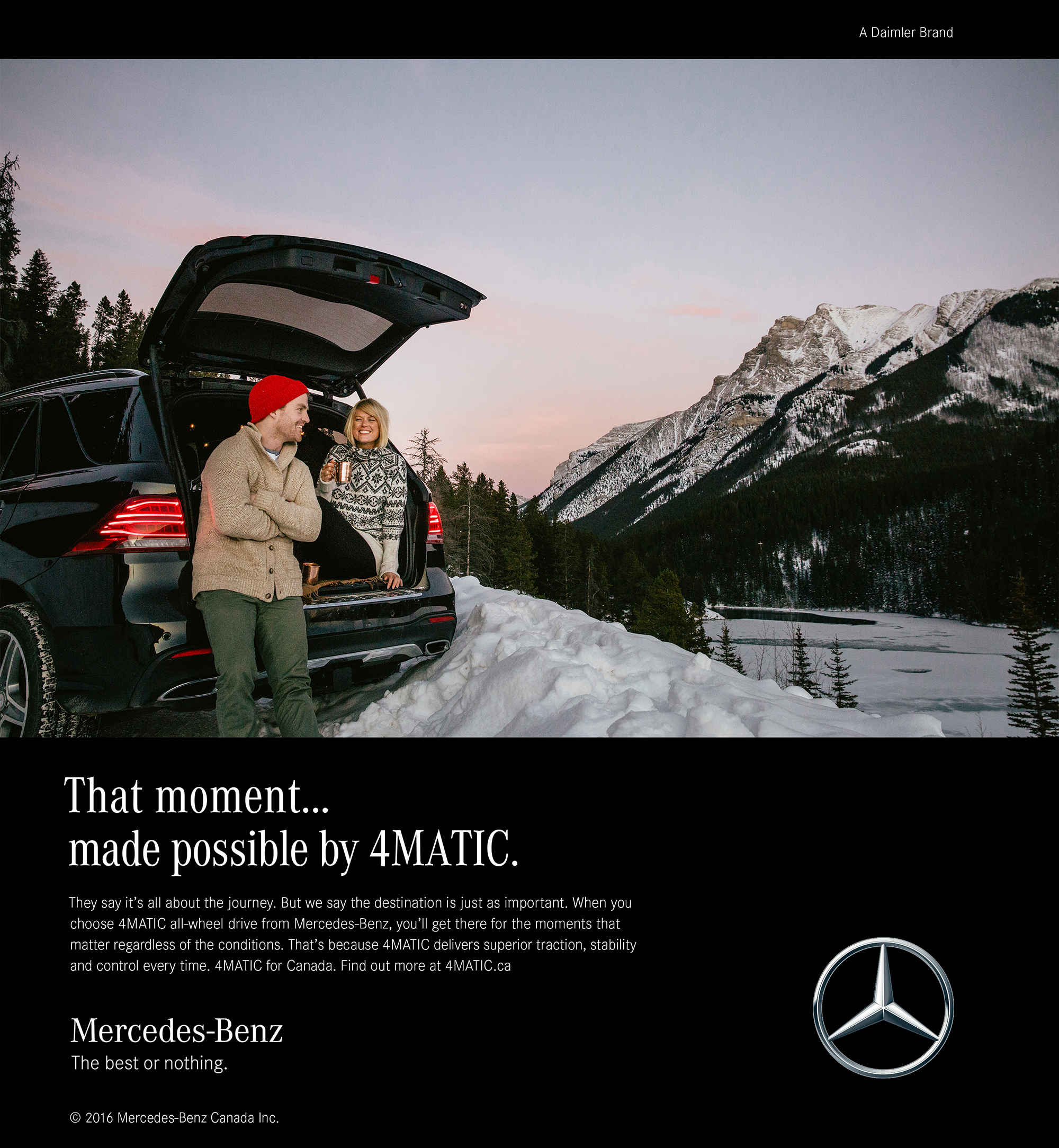 mercedes-benz, commercial photography, great north collective, david guenther, canada