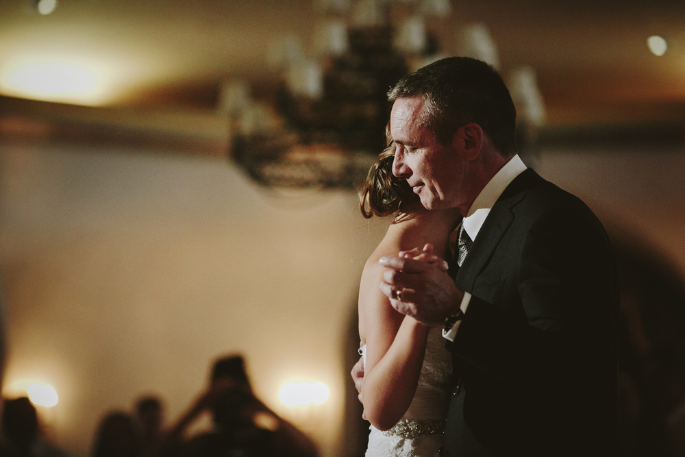 Fairmont Banff Springs Wedding, Father Daughter Dance