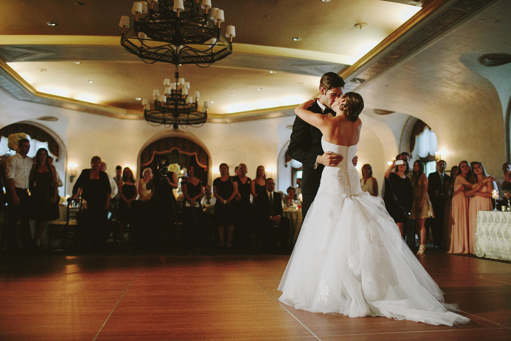 Fairmont Banff Springs Wedding Reception, First Dance Dance
