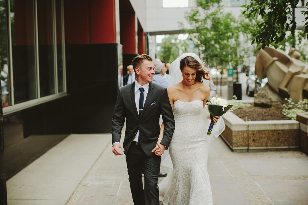 calgary wedding photographer, calgary wedding, bonterra, downtown, urban wedding
