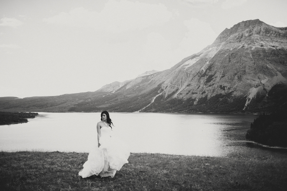 Waterton Wedding, Waterton Wedding Photography, Stormy Skies, Mountain Elopement, Alberta Mountain Elopement
