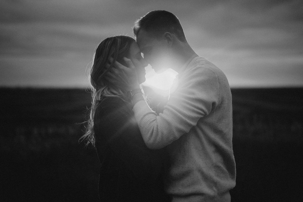 Southern Alberta Engagement Session BW -10.JPG