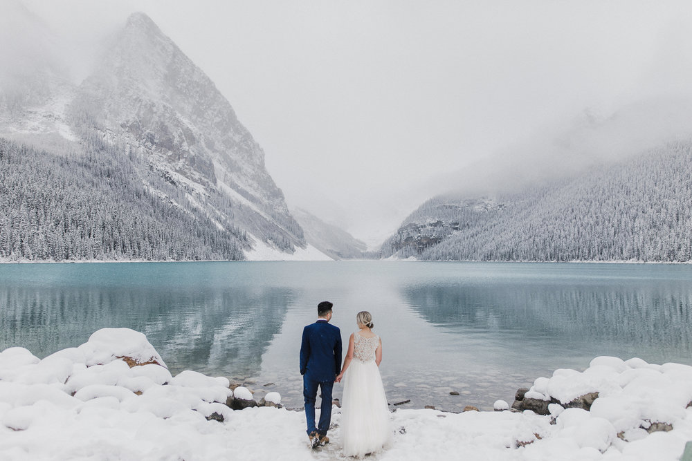 Stephanie + Steve - Lake Louise, Alberta