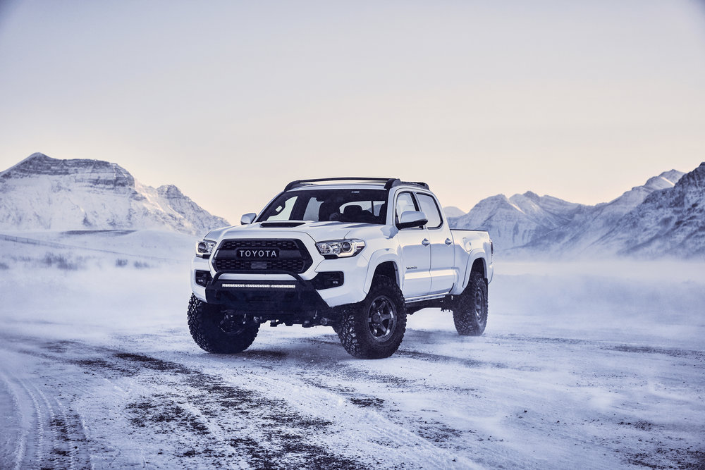 Toyota Tacoma TRD Pro - Winter 2018
